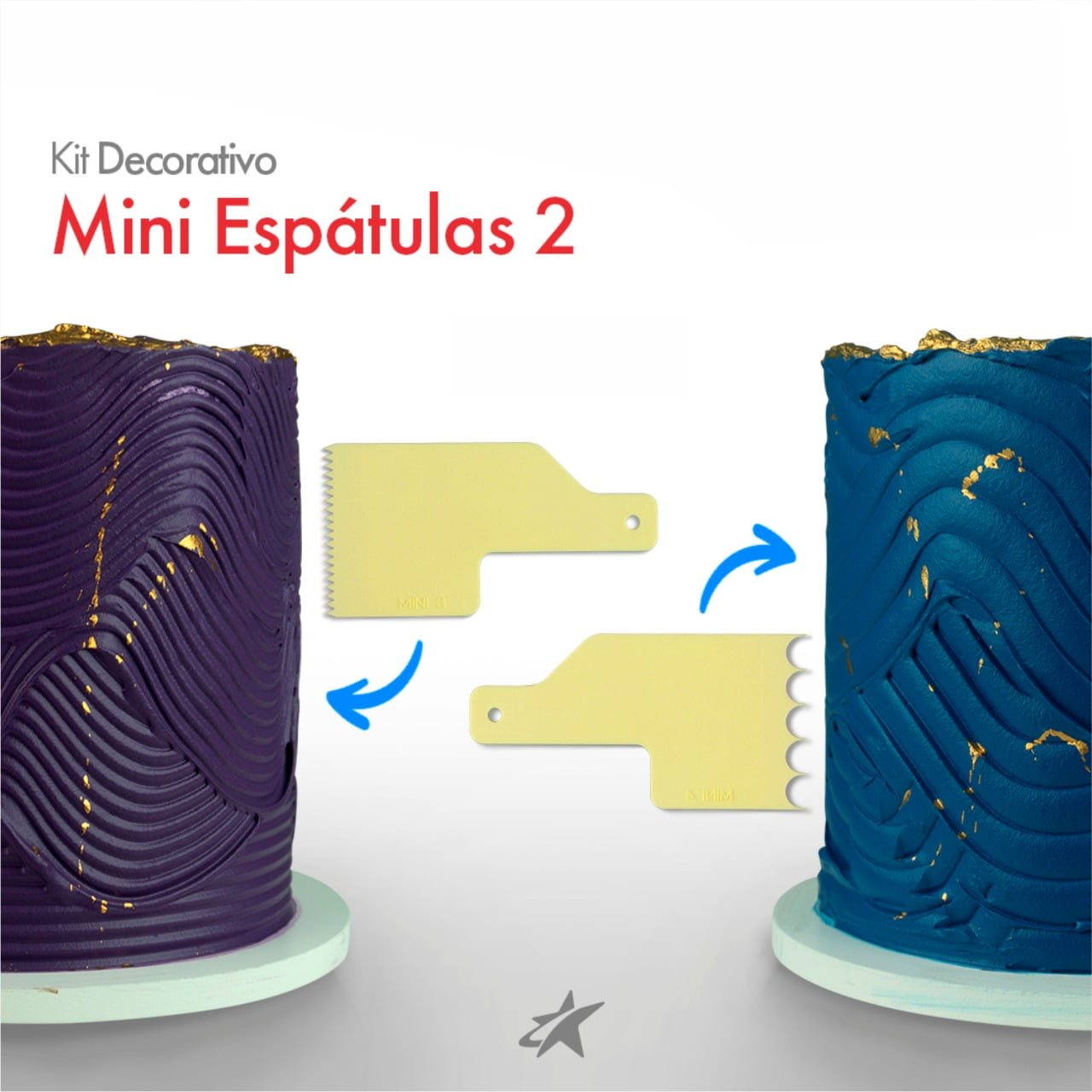 KIT DECORATIVO MINI ESPÁTULAS 2