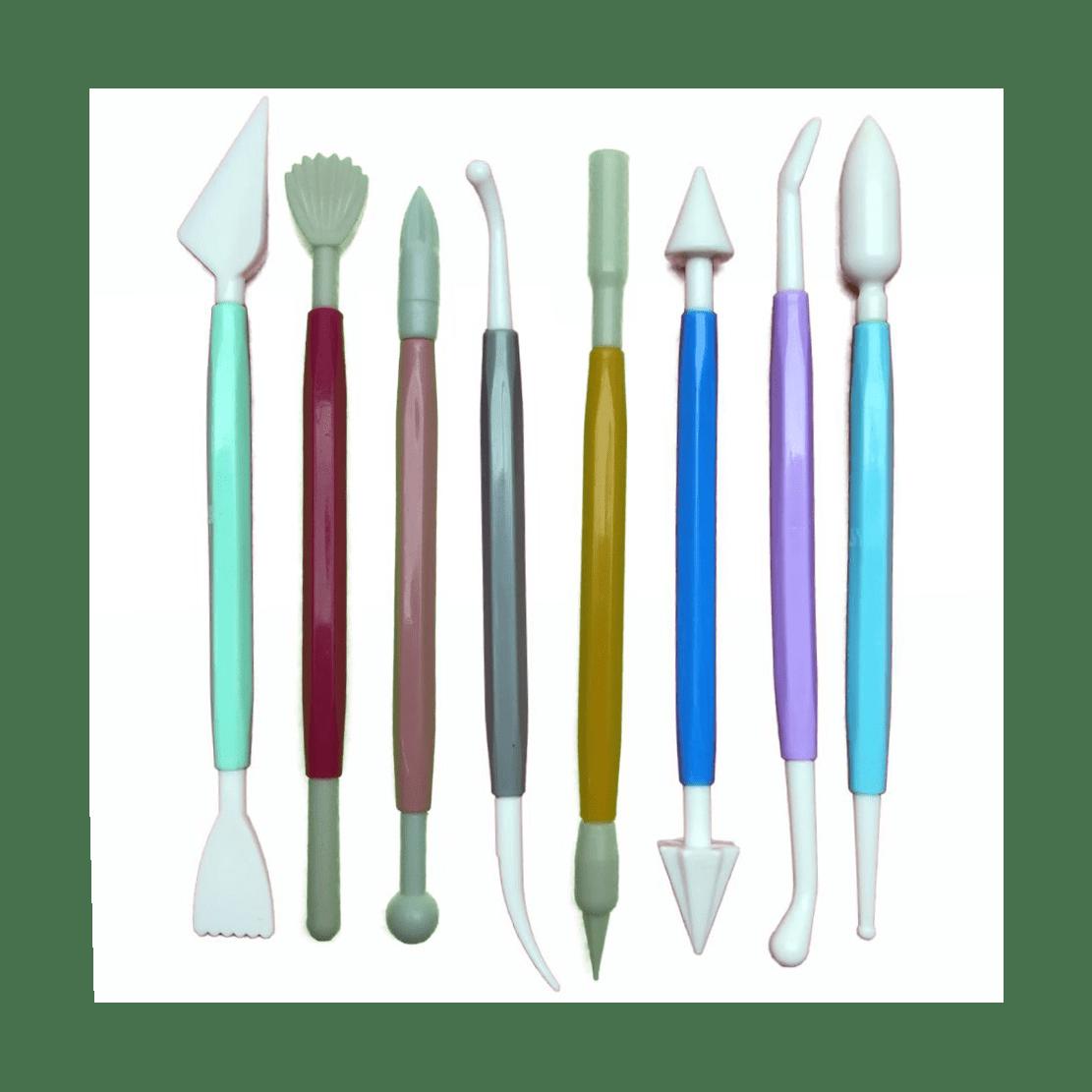 Conjunto de estecas com 8 peças
