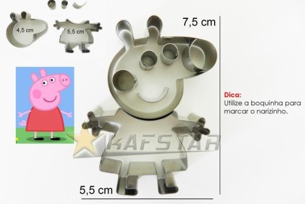 Cortador Peppa Pepa Pig