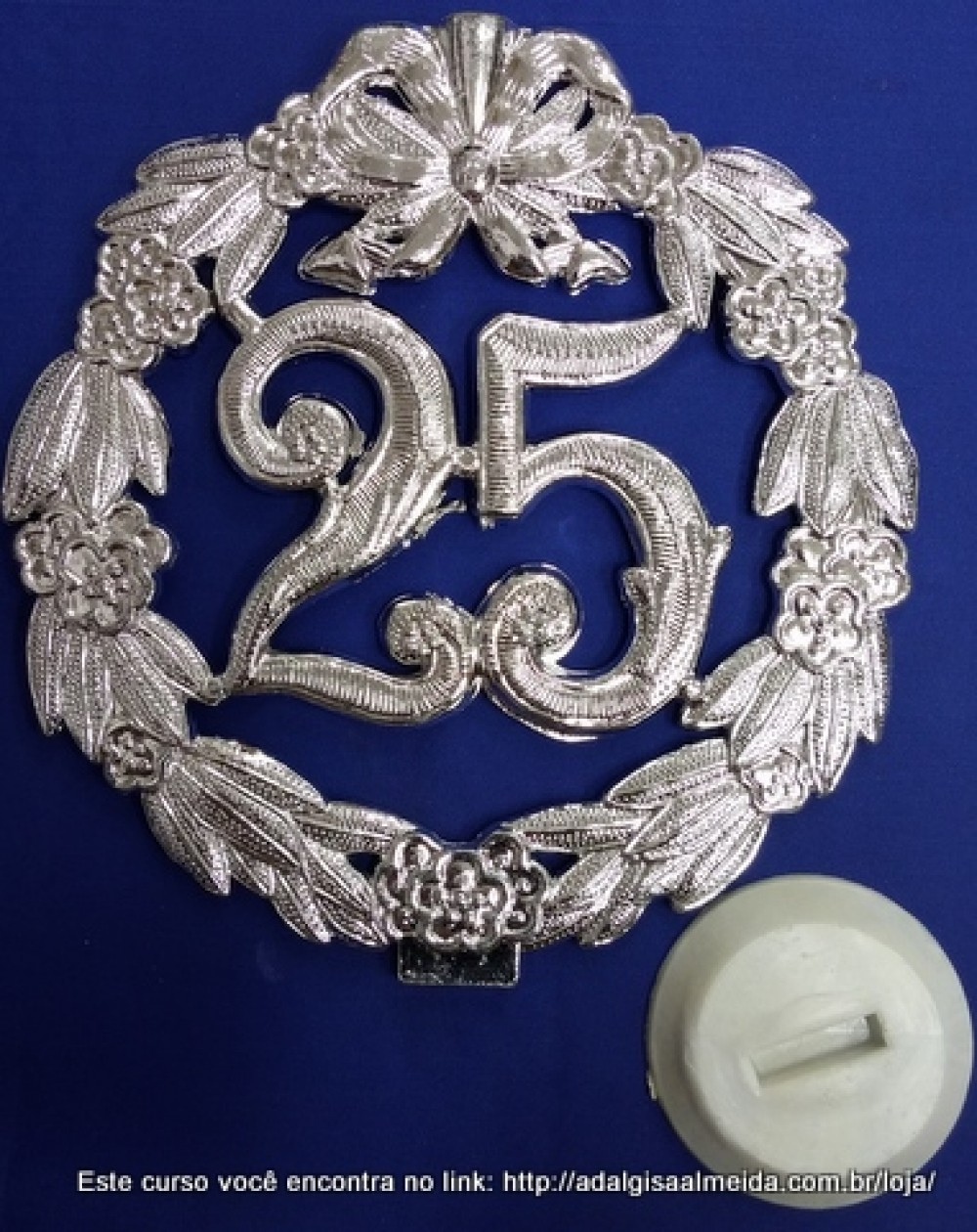 Placa Decorativa 25 anos