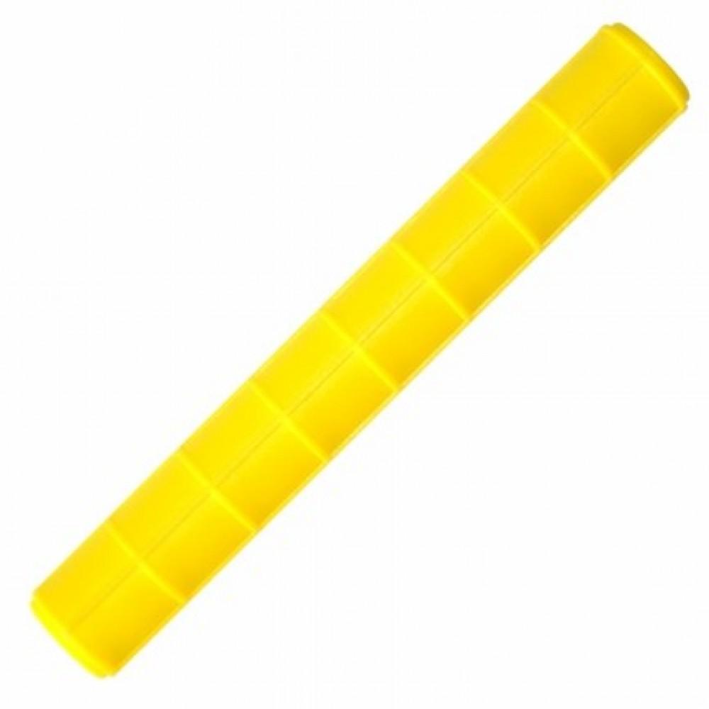 Rolo Marcador frisado amarelo