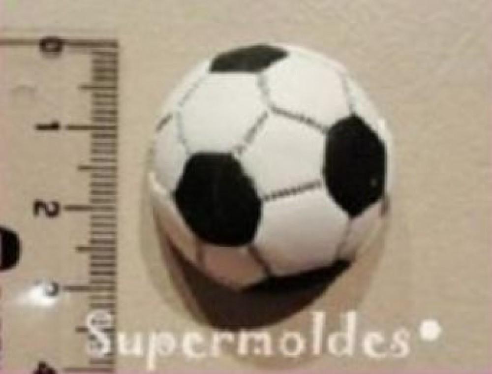 Molde de silicone com forma de bola. Ideal para utilizar com Pasta Americana.