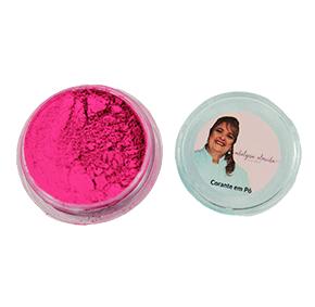 Corante em Pó - Fluor Neon Rosa