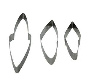 Cortador  de Folhagem de Crótons Conjunto com 3