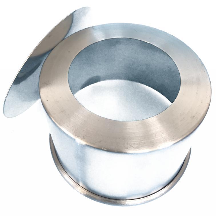 Forma Assadeira redonda de fundo falso removível de alumínio para assar bolos 15cm X 10cm