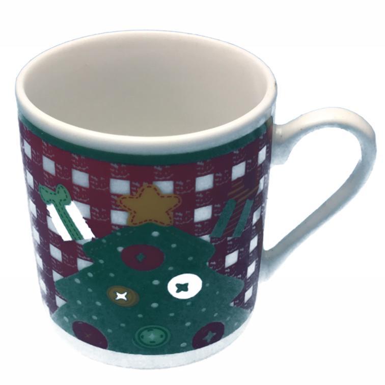 Caneca MÉDIA em porcelana com estampas de Natal - Estampas variadas