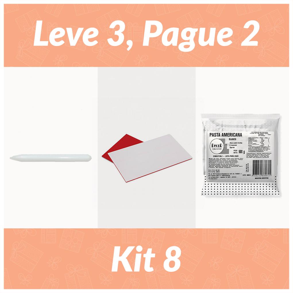 Kit 8 Leve 3 Pague 2