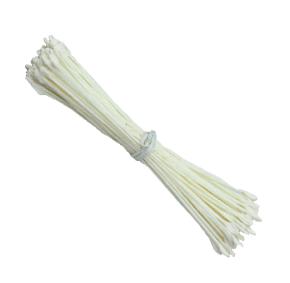 Pistilo/Estame para Flores de Açúcar/Branco PEQUENO-70 unidades