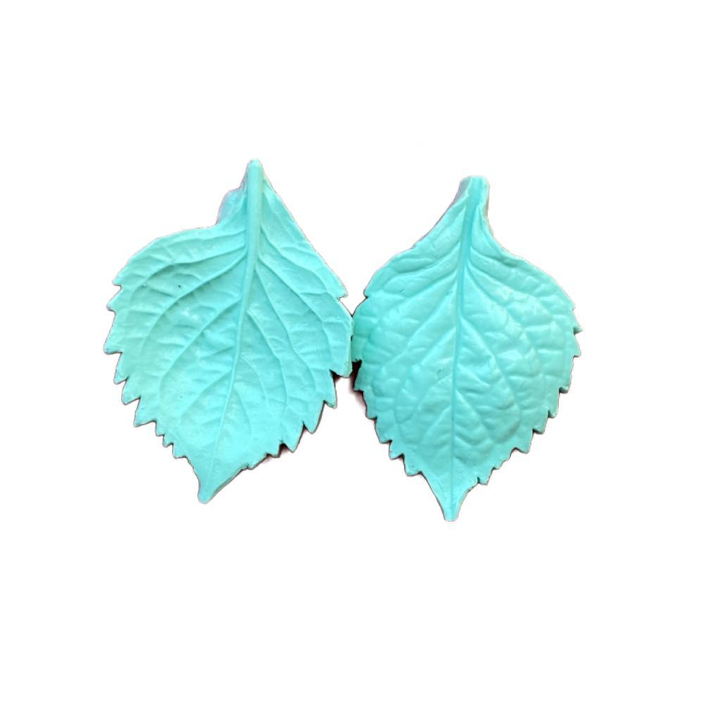 Molde de Silicone Frisador/Marcador de nervuras da folha da Hortênsia