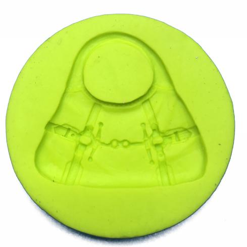 Molde de silicone Bolsa. Ideal para utilizar com Pasta Americana.