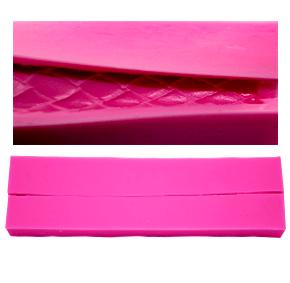 Molde de silicone Em Formato  de  Cordão de Losango.