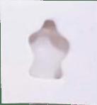 Molde de Silicone em formato de Corpo Dorso de Princesa