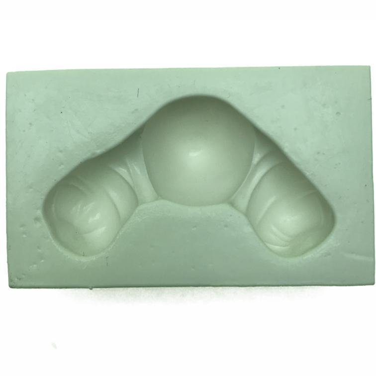 Molde de silicone em formato de Corpo e pernas do palhaço e outros