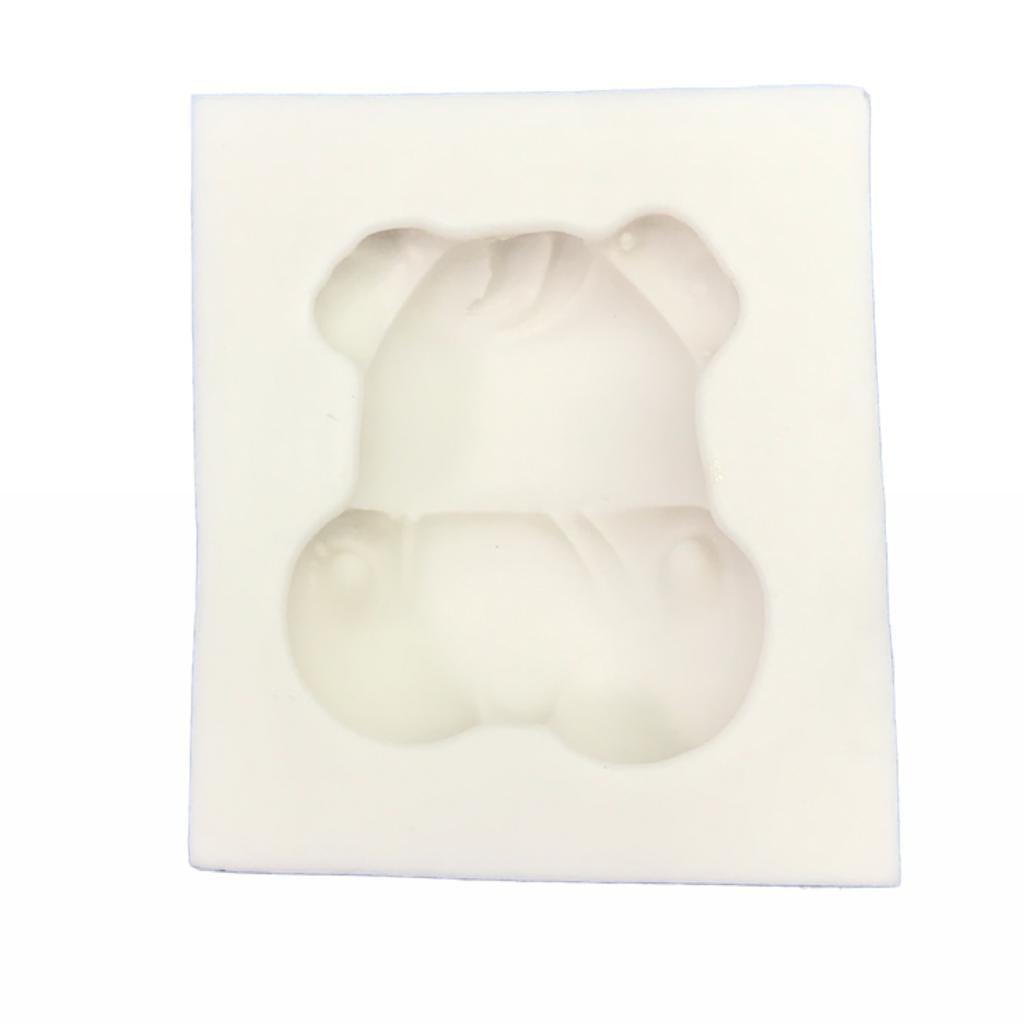 Molde de silicone em formato de Hipopótamo-Safari