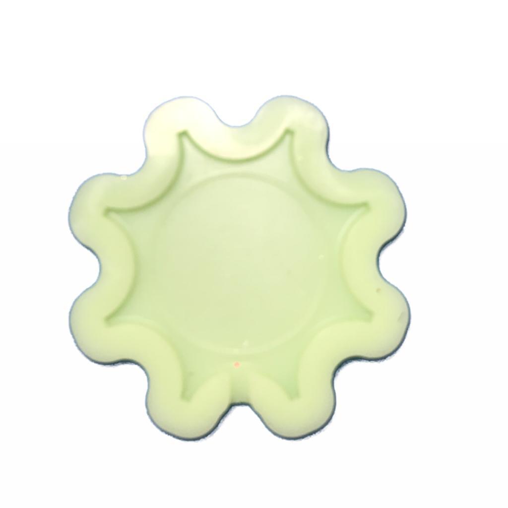 Molde de silicone em formato de sol para pirulito de Cristal