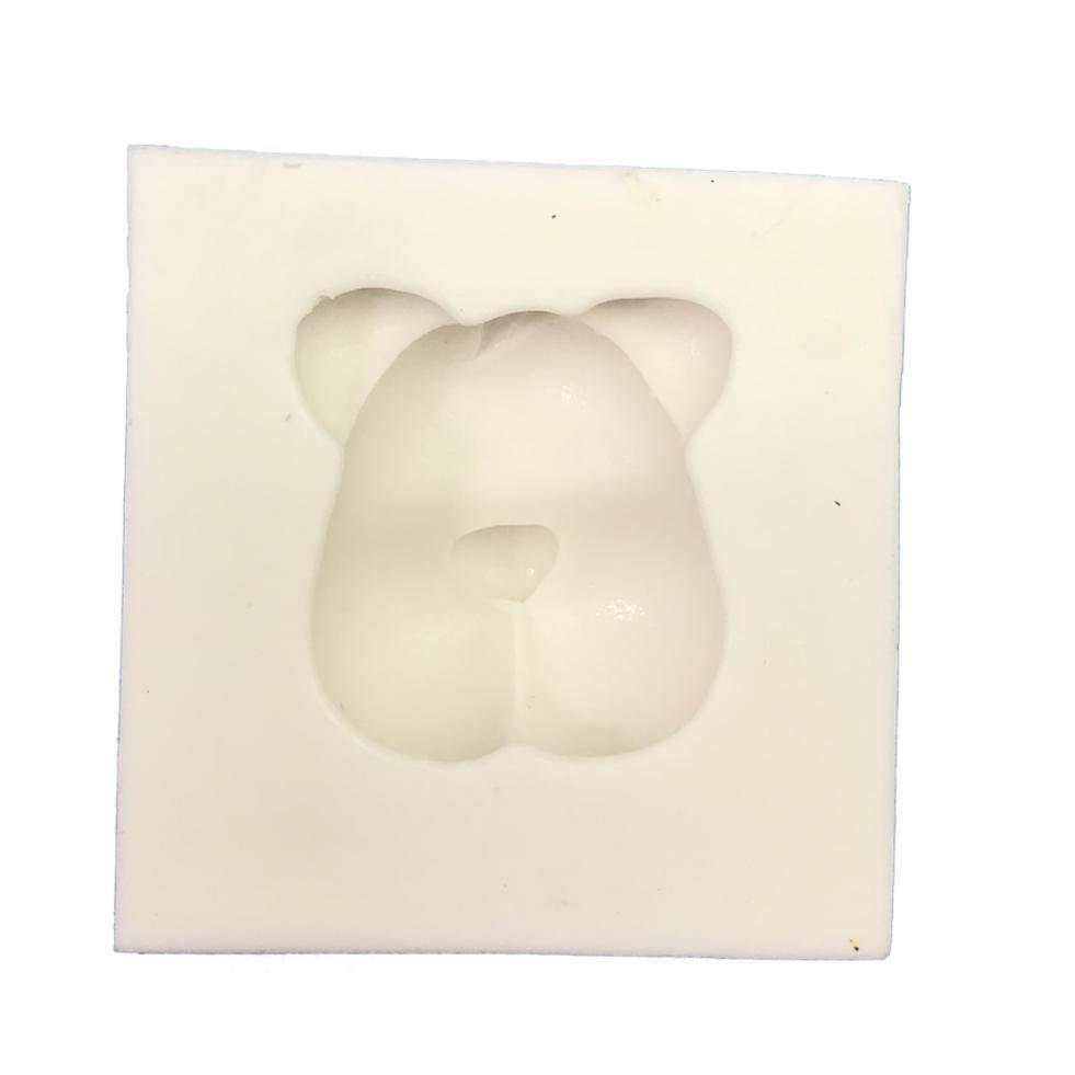 Molde de silicone em formato de Tigre-Safari