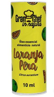 Óleo Essencial Natural de LARANJA PERA de grau alimentício
