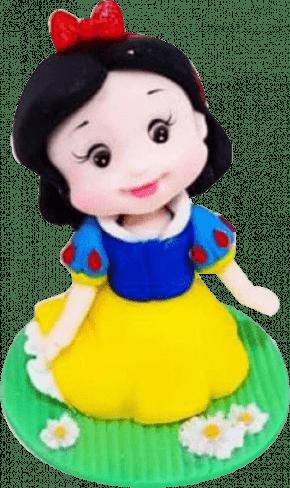 Molde de silicone em formato de saia de Princesa - Modelo 1