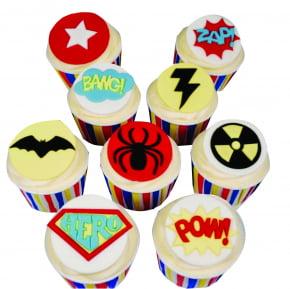 Régua Cortadora Marcadora de Quadrinhos Zaz Pow Bang! Super Heróis Batman