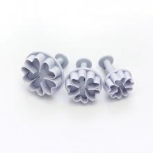 Ejetor de Flor com 3 peças com coração
