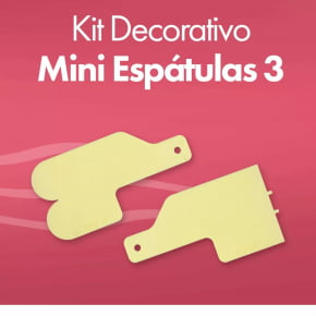 KIT DECORATIVO MINI ESPÁTULAS 3