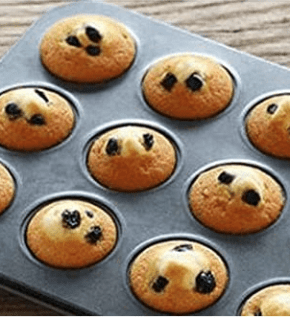 Forma para Cupcake Antiaderente 12 cavidades - Petit Gateaux Empada