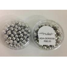 Bolinhas  Prata - 5,0mm