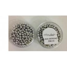 Bolinhas  Prata - 2,5 mm