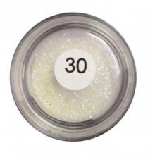 Gliter - Prata Sugar Art - Atóxico - Não Comestível