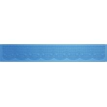 Silicone Para Renda Flexível - uma faixa de Barrado com flor