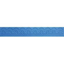 Silicone Para Renda Flexível - uma faixa de Barrado com formas geométricas