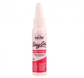 Corante em gel EasyGel GranChef Rosa Chiclete