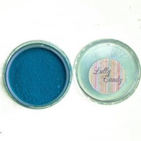 Corante em pó fosco Azul Tiffany