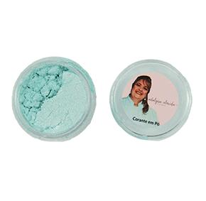 Pó Pérolado - Azul Tiffany