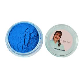 Corante em Pó - Fluor Neon Azul