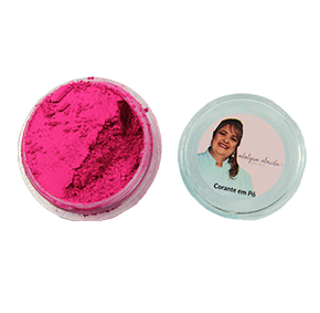 Corante em Pó - Fluor Neon Rosa Escuro