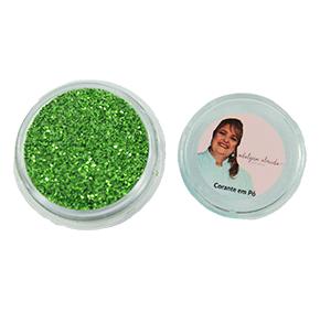 Gliter Verde Bandeira - Não Comestível