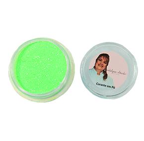 Gliter Verde - Não Comestível