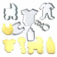Cortador de Chá de bebê com 6 peças