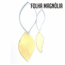 Conjunto de Cortadores da Folha da Flor Magnólia
