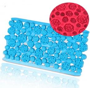 Placa de Textura Marcador de Rosas