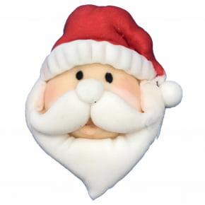 Molde de silicone em formato de Rosto do Papai Noel/Natal