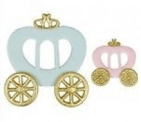 Conjunto de Cortadores de Carruagem - Princesa
