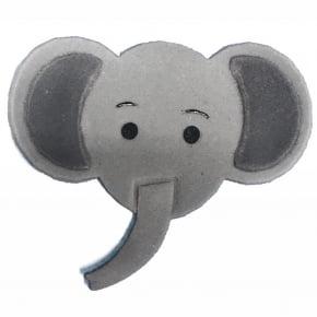 Cortador/Patchwork Safari Elefante