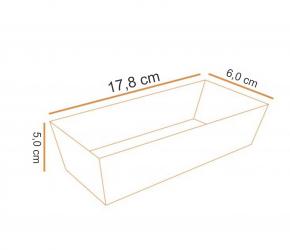 Forma de Bolo Inglês Plumpy c/ TAMPA - Forneável - Econômica - 5 UN  Ecopack/Sulformas
