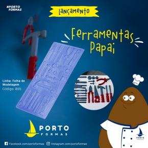 FORMA CHOCOLATE  FERRAMENTAS PAPAI 26 CAVIDADES nro. 855