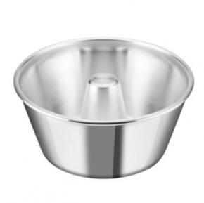 Forma Assadeira Torta Suiça de fundo fixo de alumínio 20cm x 17cm x 8cm