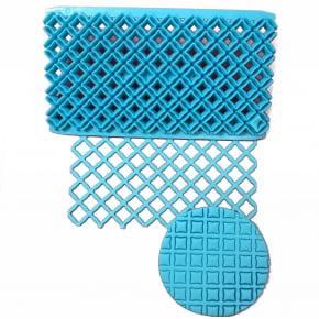 Placa de Textura Marcador de Losango Duplo para pasta americana