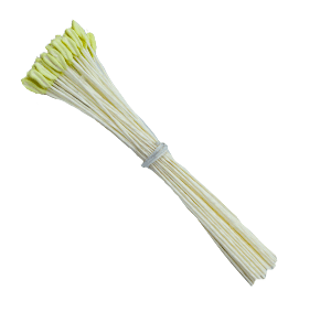 Pistilo/Estame  Amarelo/ Lírio-70 unidades para Flores de Açúcar