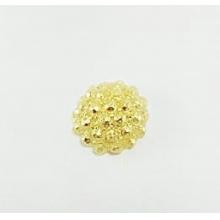 Molde de Silicone em formato de jóias  com Strass com 1 peças. Ideal para utilizar com Pasta Americana.